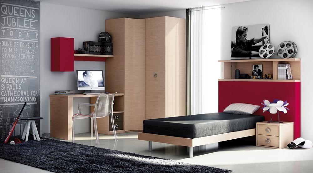 Dormitorios juveniles productos muebles rosario for Dormitorios juveniles para hombres