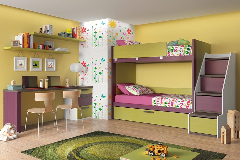 Dormitorios juveniles productos muebles rosario placares rosario vestidores rosario - Habitaciones juveniles literas ...